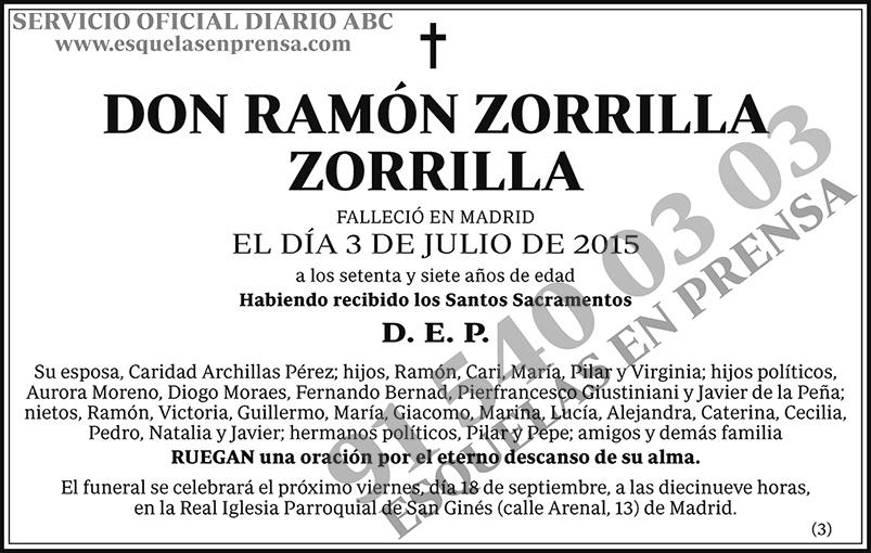 Ramón Zorrilla Zorrilla